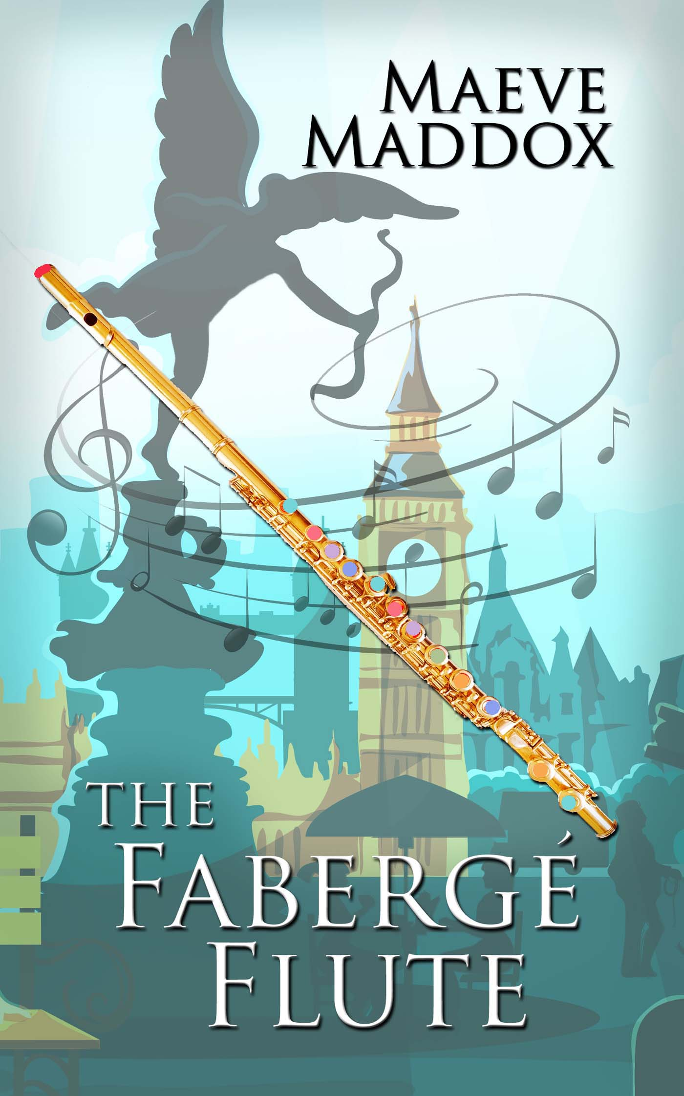 Front cover, The Fabergé Flute, 2021